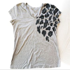 KENNETH COLE REACTION Leopard Sequin Tee